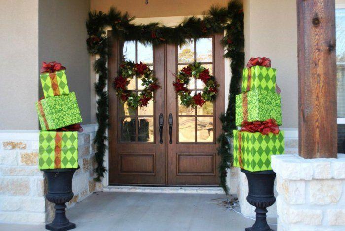 Pinterest weihnachtsdeko eingang frohe weihnachten in europa - Billige weihnachtsdeko ...