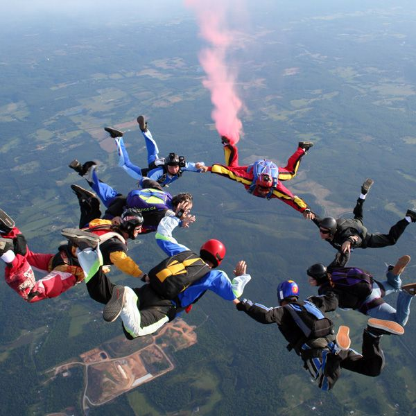 School Skydiving Sports Pictures Base Jumping