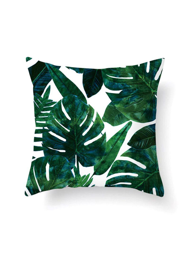 Jungle Print Pillowcase CoverFor Women-romwe Throw Pillows 5f860a25b