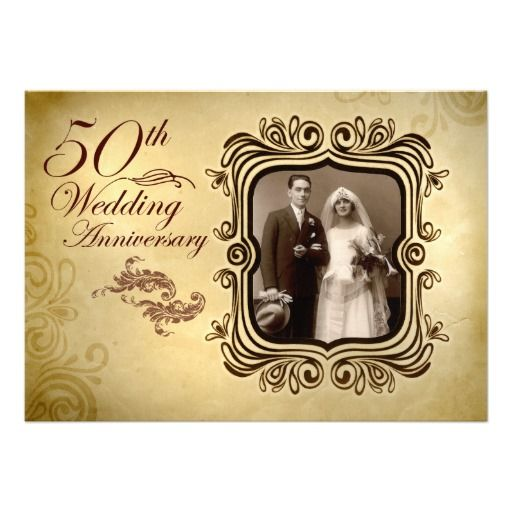 Th wedding anniversary invitations in spanish