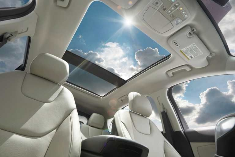 Available Panoramic Vista Roof In The 2017 Ford Edge Ford Edge