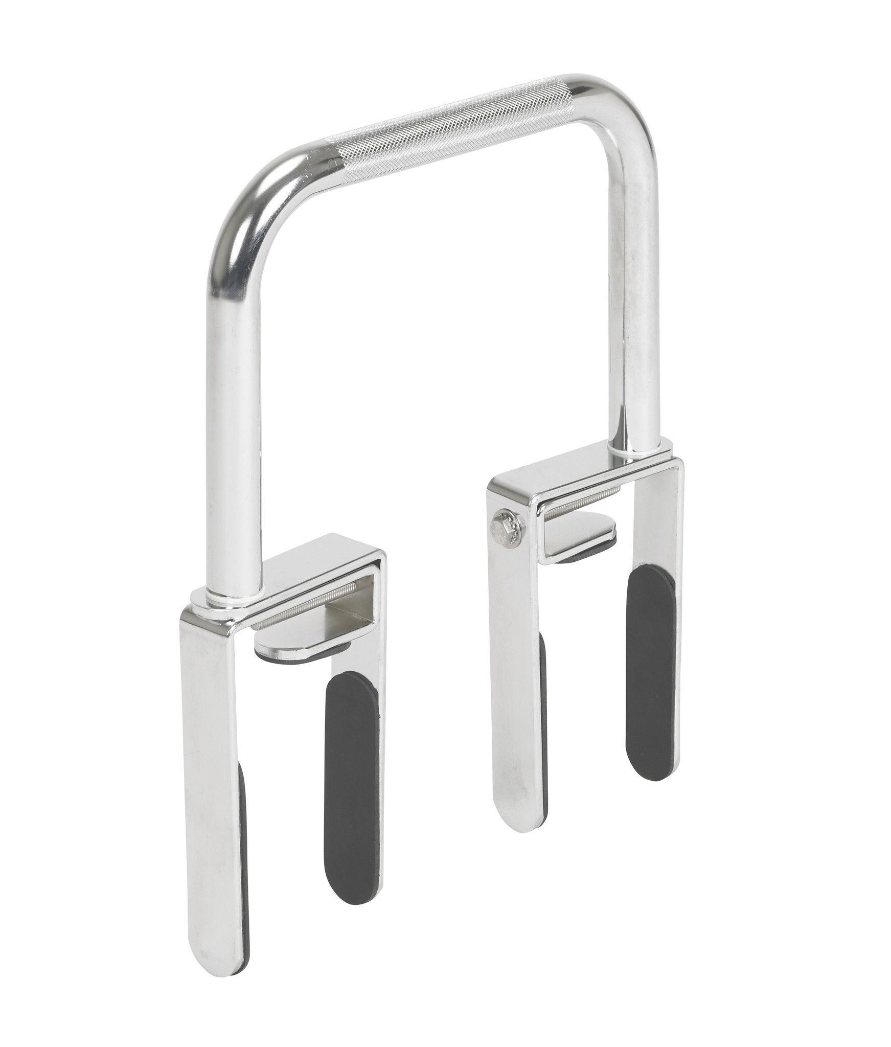 The bathtub grab bar safety rail was designed for individuals