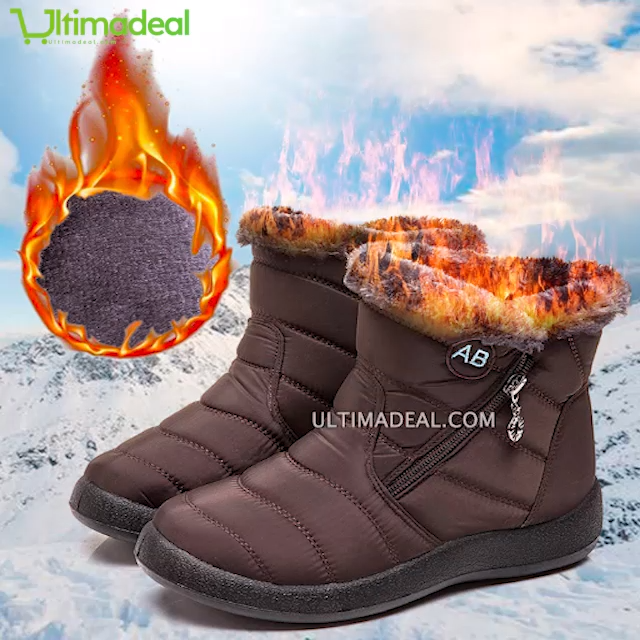 Photo of Winter is coming: These cute boots are warm, comfy & water resistant.