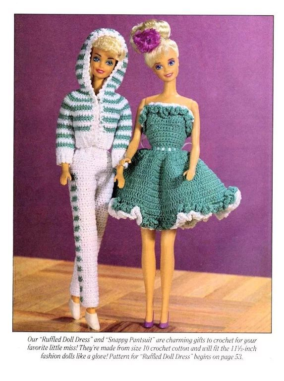 Barbie - free pattern