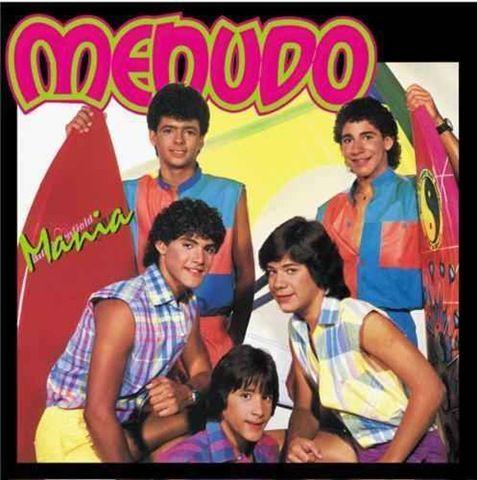Menudo Anos80 1980 80 Banda Música Anos 80