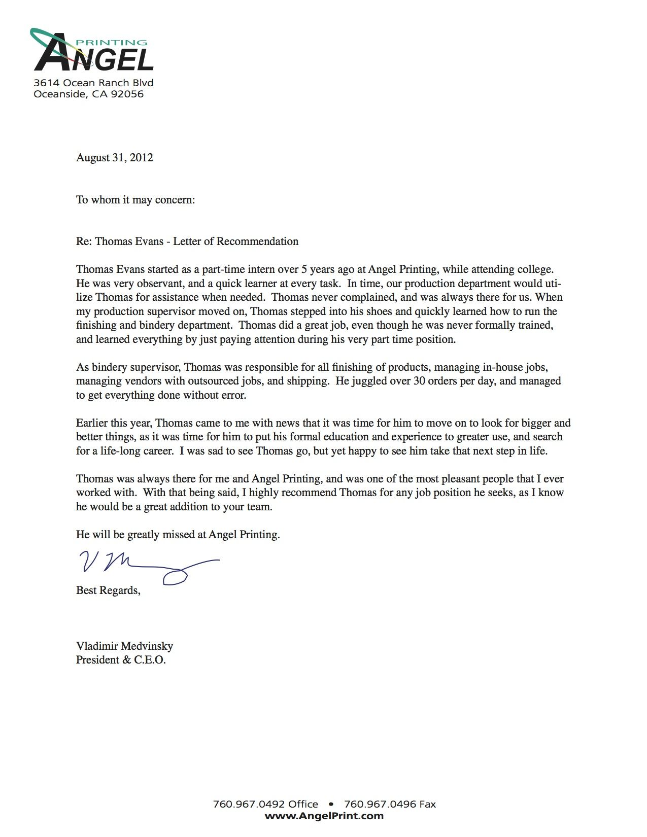 Lovely Samples Of Recommendation LettersLetter Of Recommendation Formal Letter  Sample
