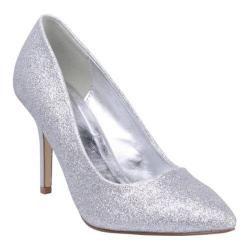 Women's Beston Karla-1 Silver Glitter | Overstock™ Shopping - Great Deals on Beston Heels