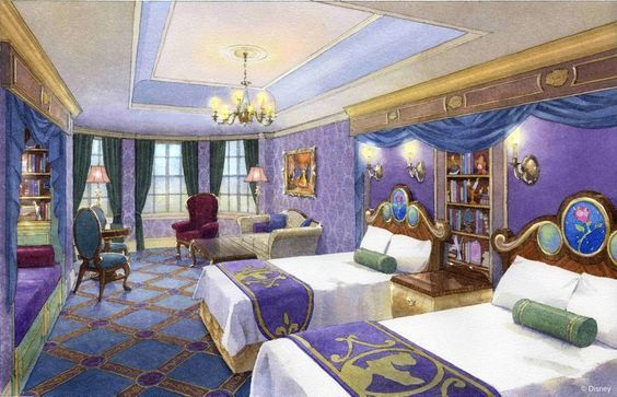 Beauty And The Beast Suite Tokyo Disneyland Hotel Tokyo