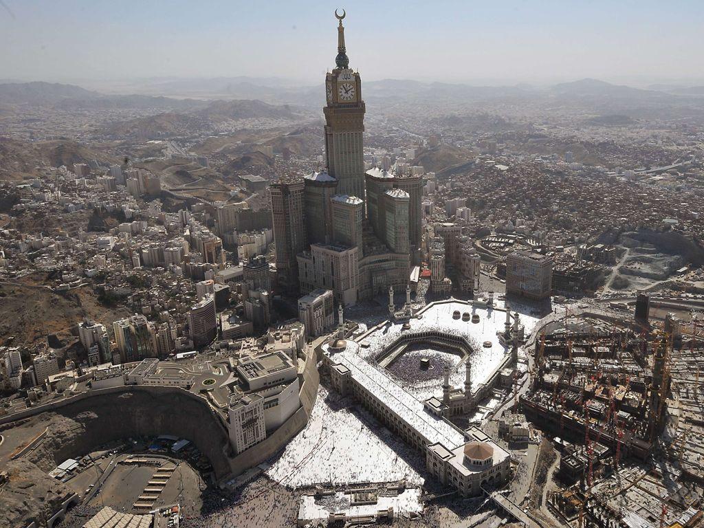 Located in #Mecca, #Saudi #Arabia #Makkah #Royal #Clock #Tower ...