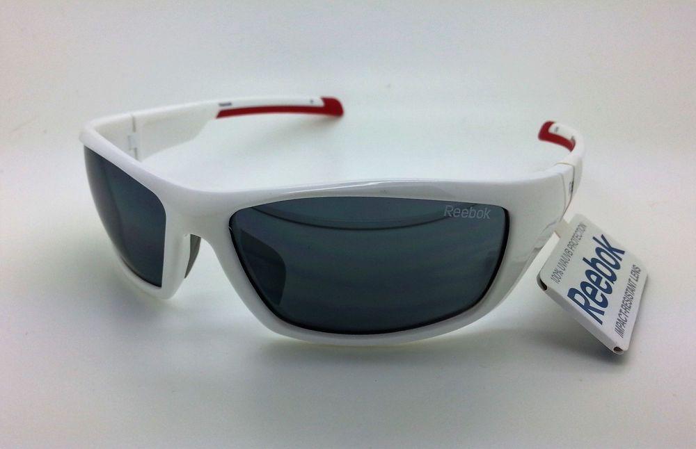 Reebok Classic 3 White Sunglasses GFoWuY