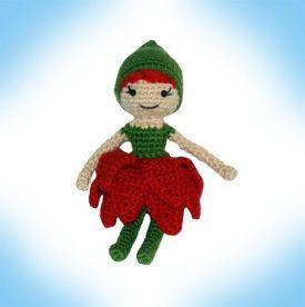 Blossom Pixie Crochet Doll - Knitting Patterns by Deja Jetmir