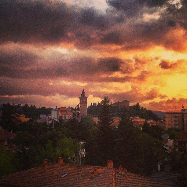 Tramonto a Cesena - Instagram by tamyph