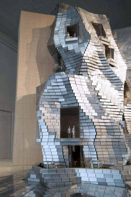 Frank O. Gehry's building for LUMA at the Parc des Ateliers. Arles