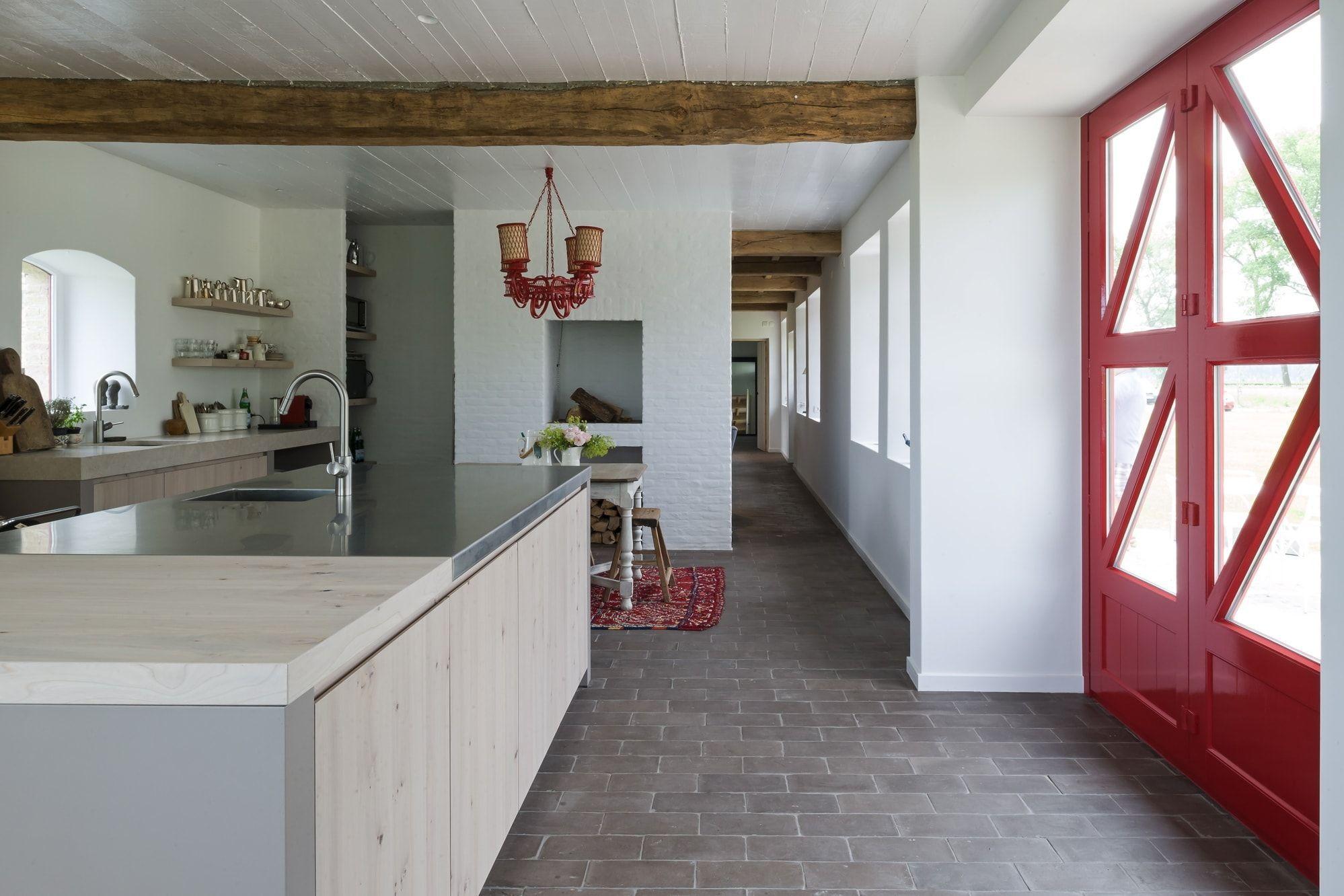 Keuken gemaakt op maat met speciale aandacht voor de natuurlijke