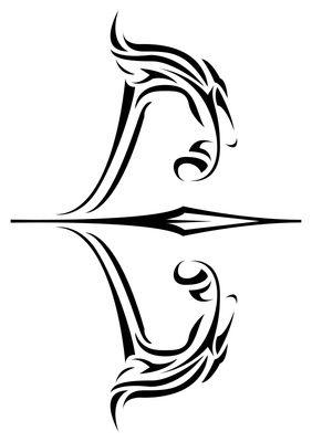 Bow And Arrow Tattoo Google Search Skin Art Tribal Tattoos
