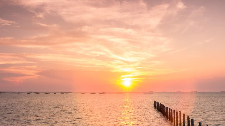 Time Lapse Of Landscape Sunset Stock Footage Video 100 Royalty Free 1015366861 Shutterstock Sunset Landscape Ocean Day
