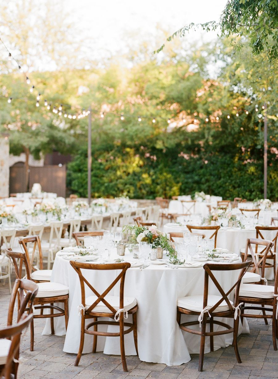 Al Fresco Napa Wedding At The Vintage Estate