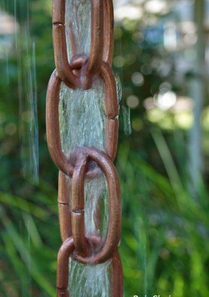 Extra Link Rain Chain Link Rain Chains Rain Chain Copper Rain Chains
