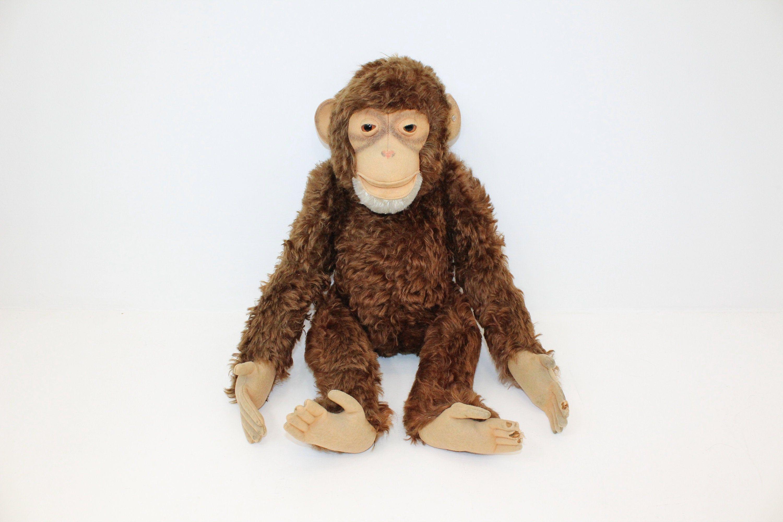 Vintage 1950s RARE very large 60cm Steiff Jocko monkey