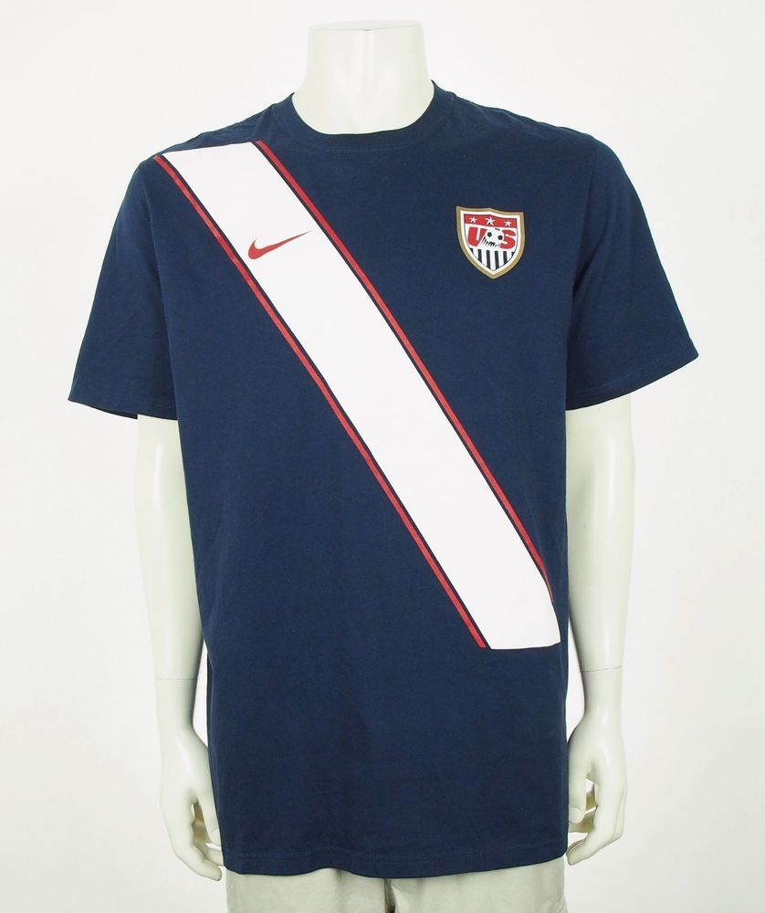 bfae303ec74 Nike National Team USA Soccer World Cup Blue Cotton Shirt Mens XL  fashion   clothing  shoes  accessories  mensclothing  shirts (ebay link)