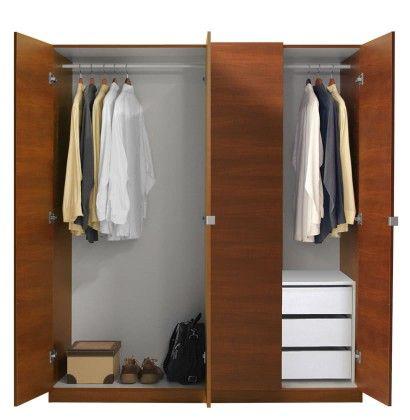 Alta Wardrobe Closet Package 3 Drawer Wardrobe Package