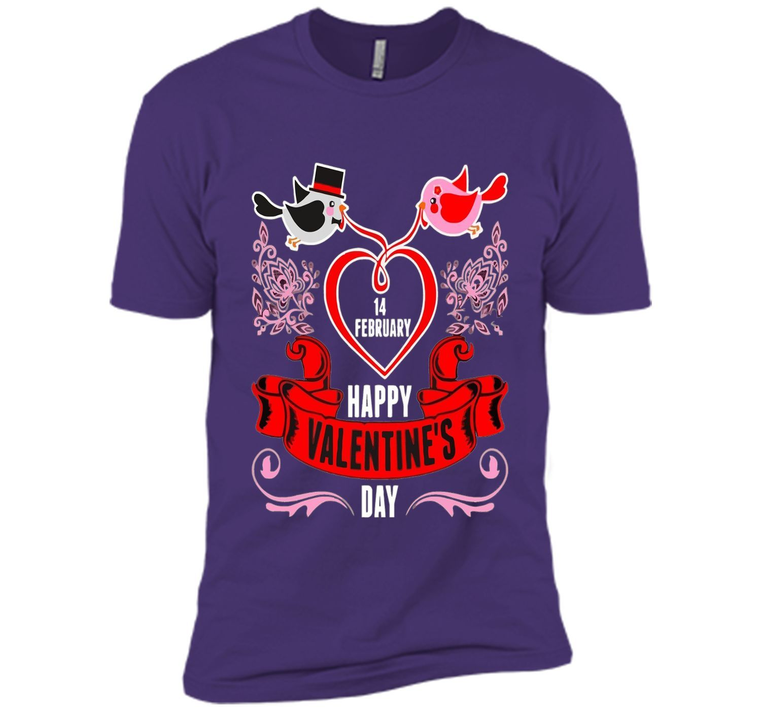 14 February Happy Valentines Day T-shirt