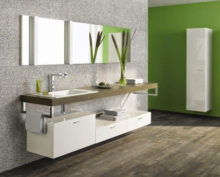 Bathroom Ideas Thin White Wall Mounted Modern Bathroom Wall