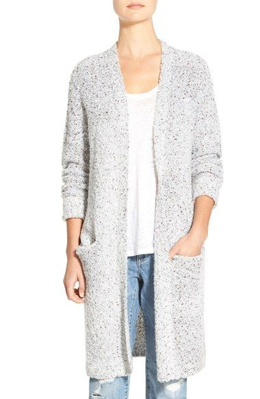 Free shipping and returns on Stem Bouclé Sweater Coat at Nordstrom ...