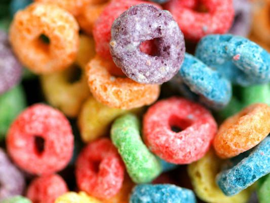 How fun! Quirky Bath Salts Fruit Loops by FundMyPhD on Etsy