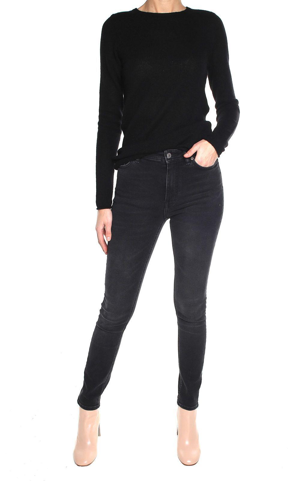 Bl? Bl? Konst Peg High-rise Jeans Acne Studios Konst Cheville Jean De Grande Hauteur Studios D'acné bel8V6FjF2