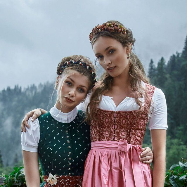 Really Good Costumes Austrian Dirndl Oktoberfest Outfit Traditional German Clothing October Fest Outfit