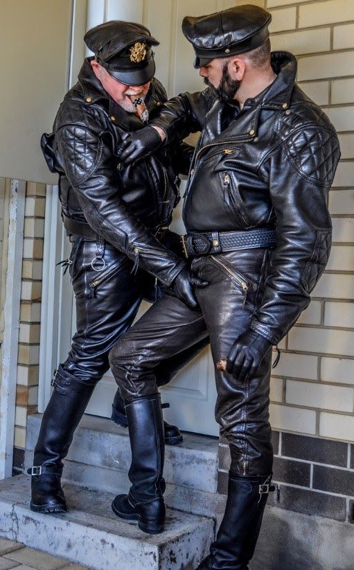 Pin by constantine timofeyev on leather guys