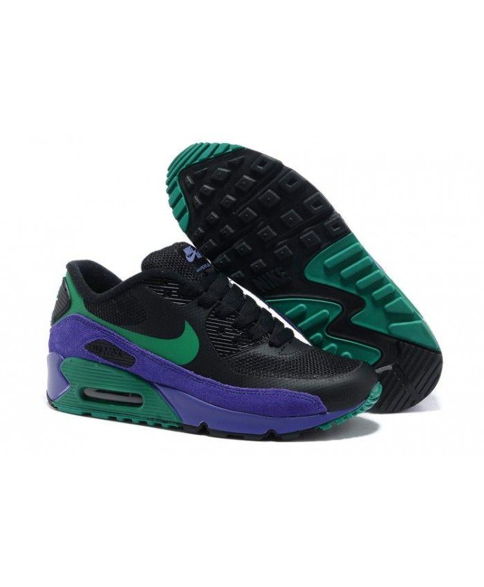9bcb488e19d Nike Air Max 90 Hyperfuse Premium Black Green UK