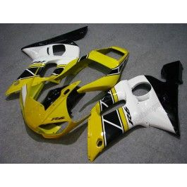Yamaha YZF-R6 1998-2002 Injection ABS Fairing - Others - Yellow/Black/White | $639.00