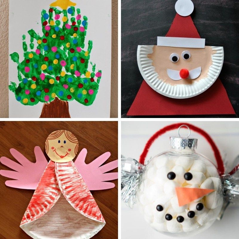 100 Easy Festive Christmas Crafts For Kids Handmade Christmas