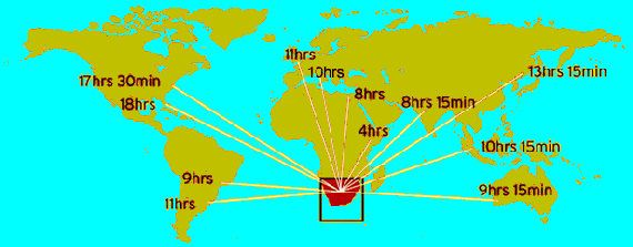 South africa is located at the southern tip of africa here is the south africa is located at the southern tip of africa here is the flight times gumiabroncs Choice Image