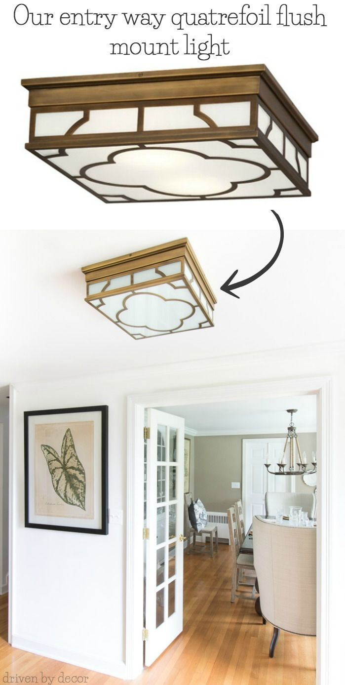 Flush Mount Lighting My 10 Favorites Driven By Decor Bedroom Ceiling Light Low Ceiling Lighting Low Ceiling
