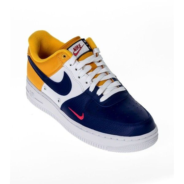 326932552 Air Force 1 Sneakers ($50) ❤ liked on Polyvore featuring men's fashion, men's  shoes, men's sneakers, multicolor, mens multi colored shoes, mens rubber  sole ...