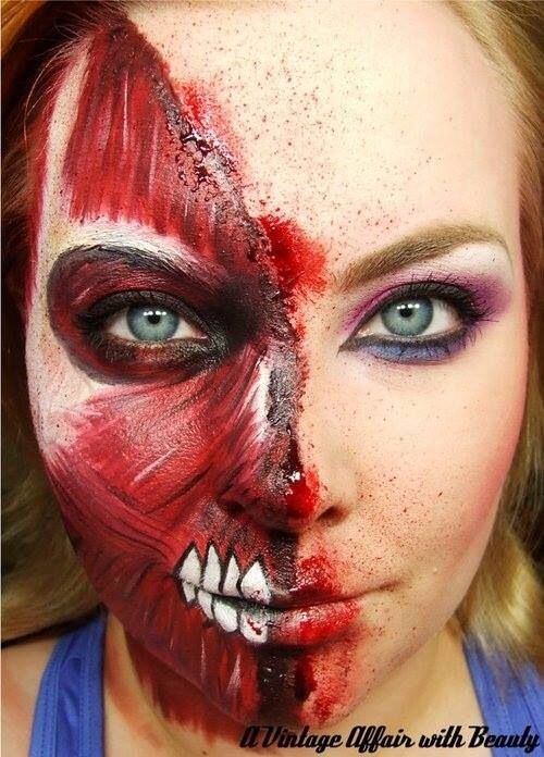 cool Face painting Well-behaved women seldom make history - face painting halloween ideas
