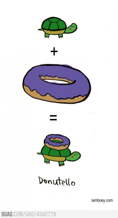 Donutello Teenage ninja turtles, Tmnt, Teenage mutant