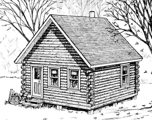 Etna 18 X20 Cabin With A Loft Hammond Lumber Series