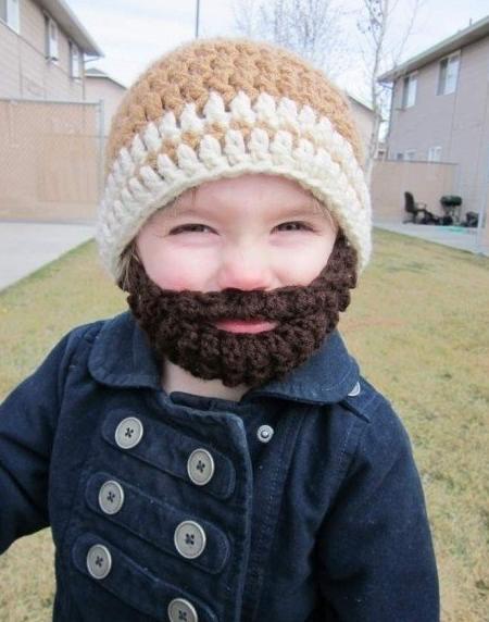 Bearded Baby :)