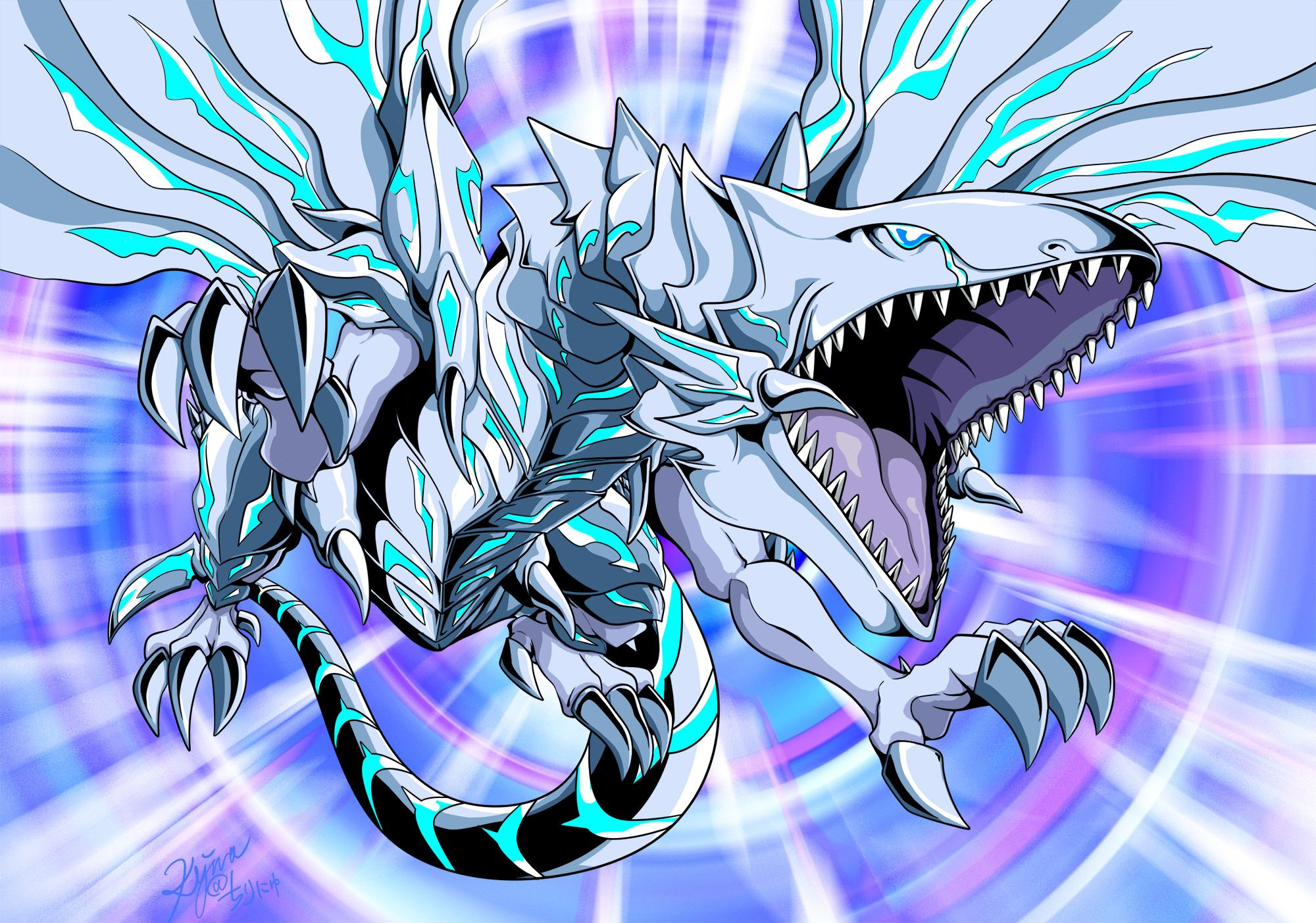 2000x1403 Blue Eyes Alternative White Dragon Download Blue Eyes Alternative White Dragon Image White Dragon Dragon Images Yugioh Monsters