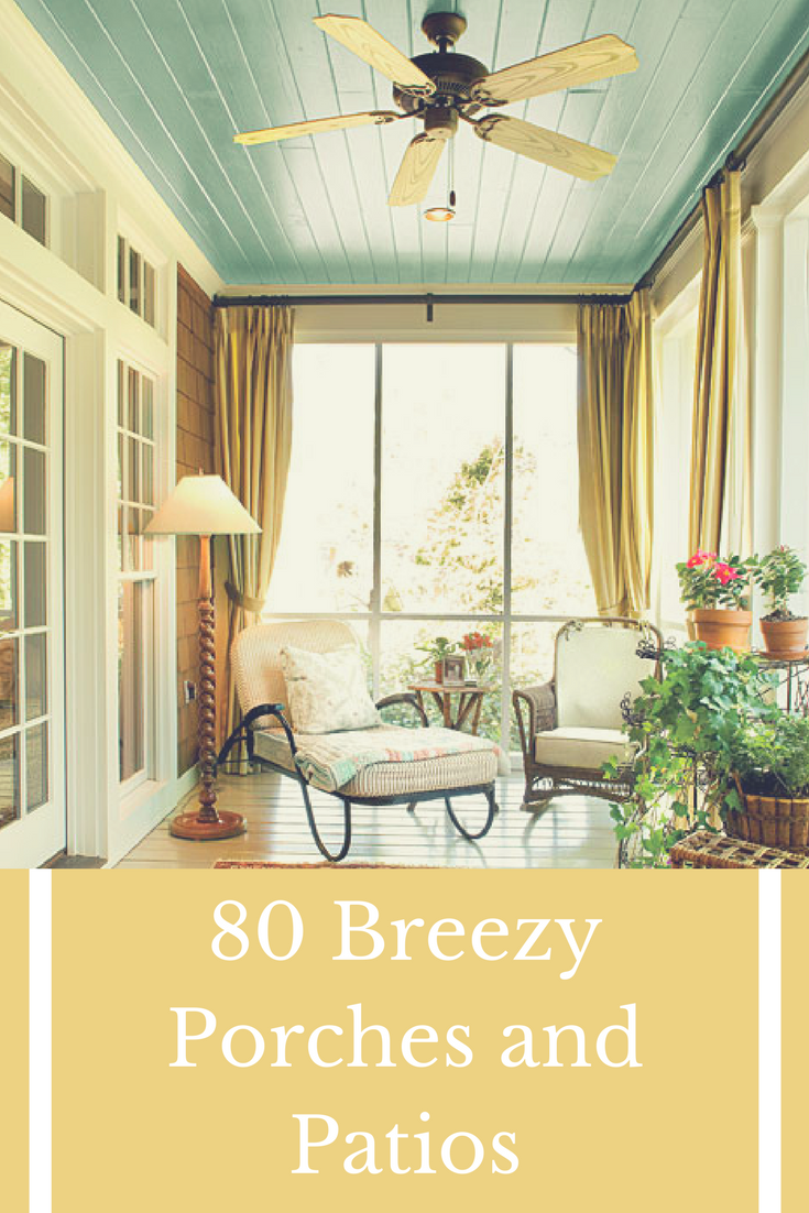 80 Breezy Porches and Patios | Apartment gardening | Pinterest ...