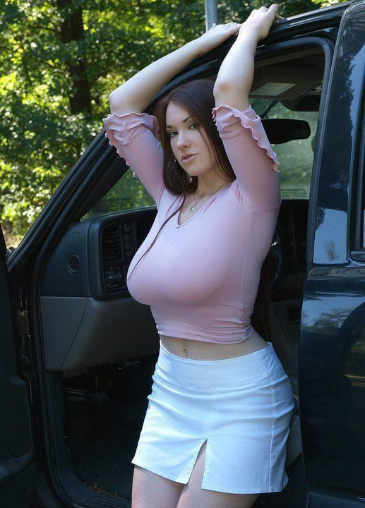Curvy naked women with fat clitoris