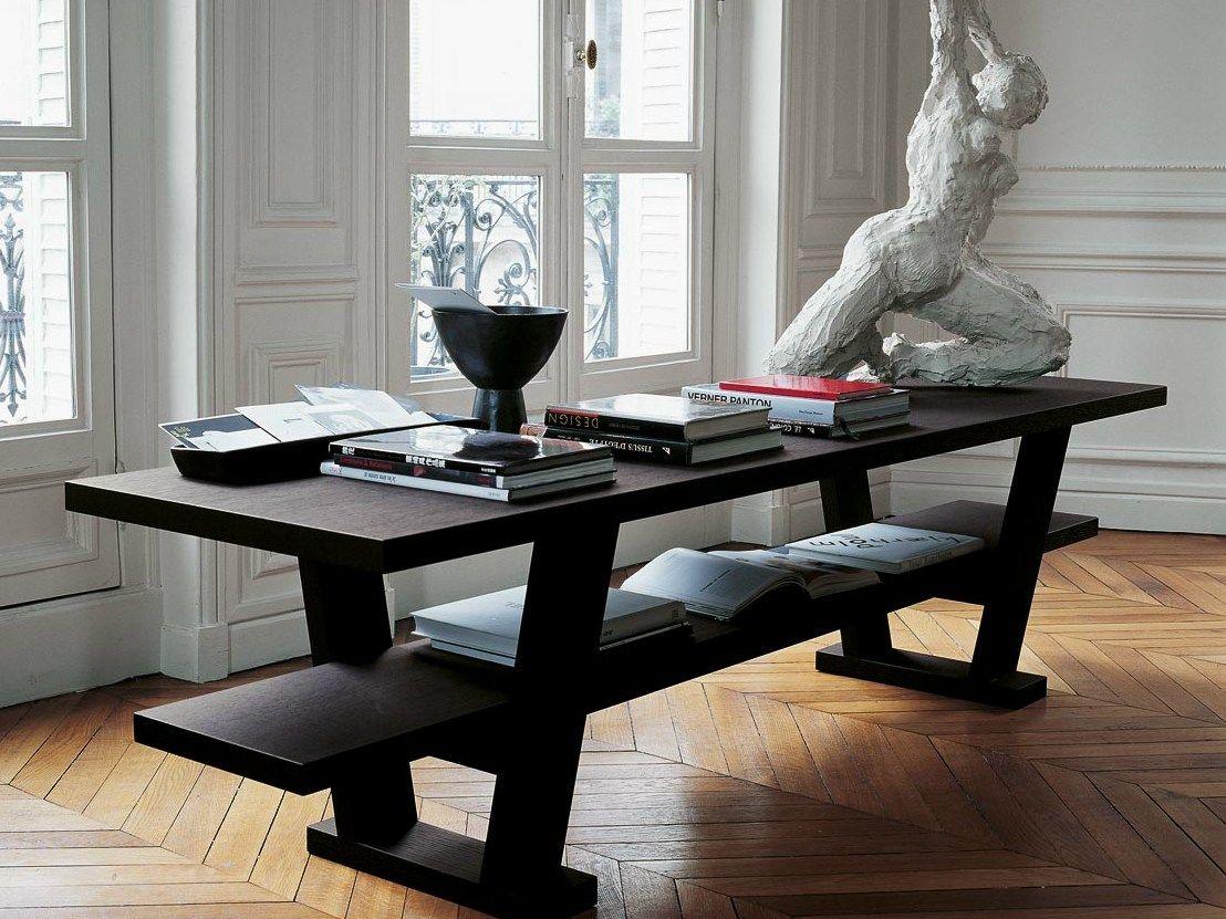 Schreibtisch Len Design wooden console table writing desk cicero by maxalto a brand of