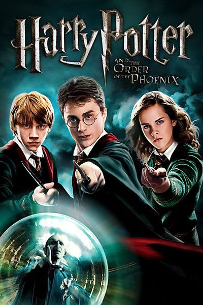 Harry Potter And The Order Of The Pheonix Year 5 Harry Potter Order Harry Potter 5 Harry Potter Movies
