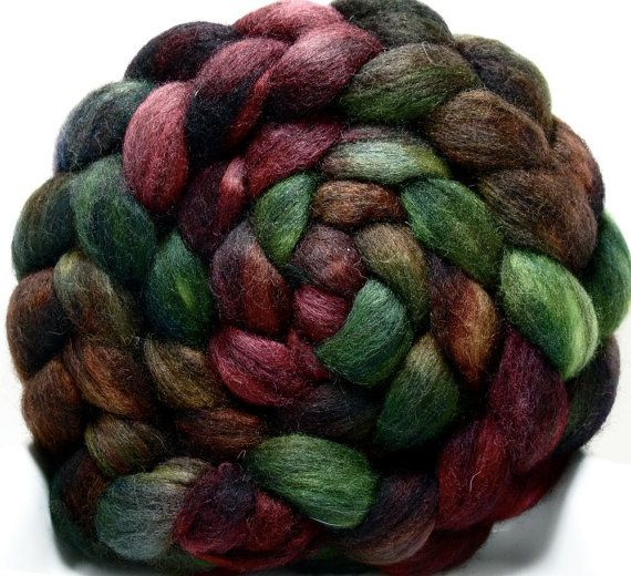 Rowan - BFL - 5.0 oz - from Corgi Hill Farm. The first colourway I got from here.
