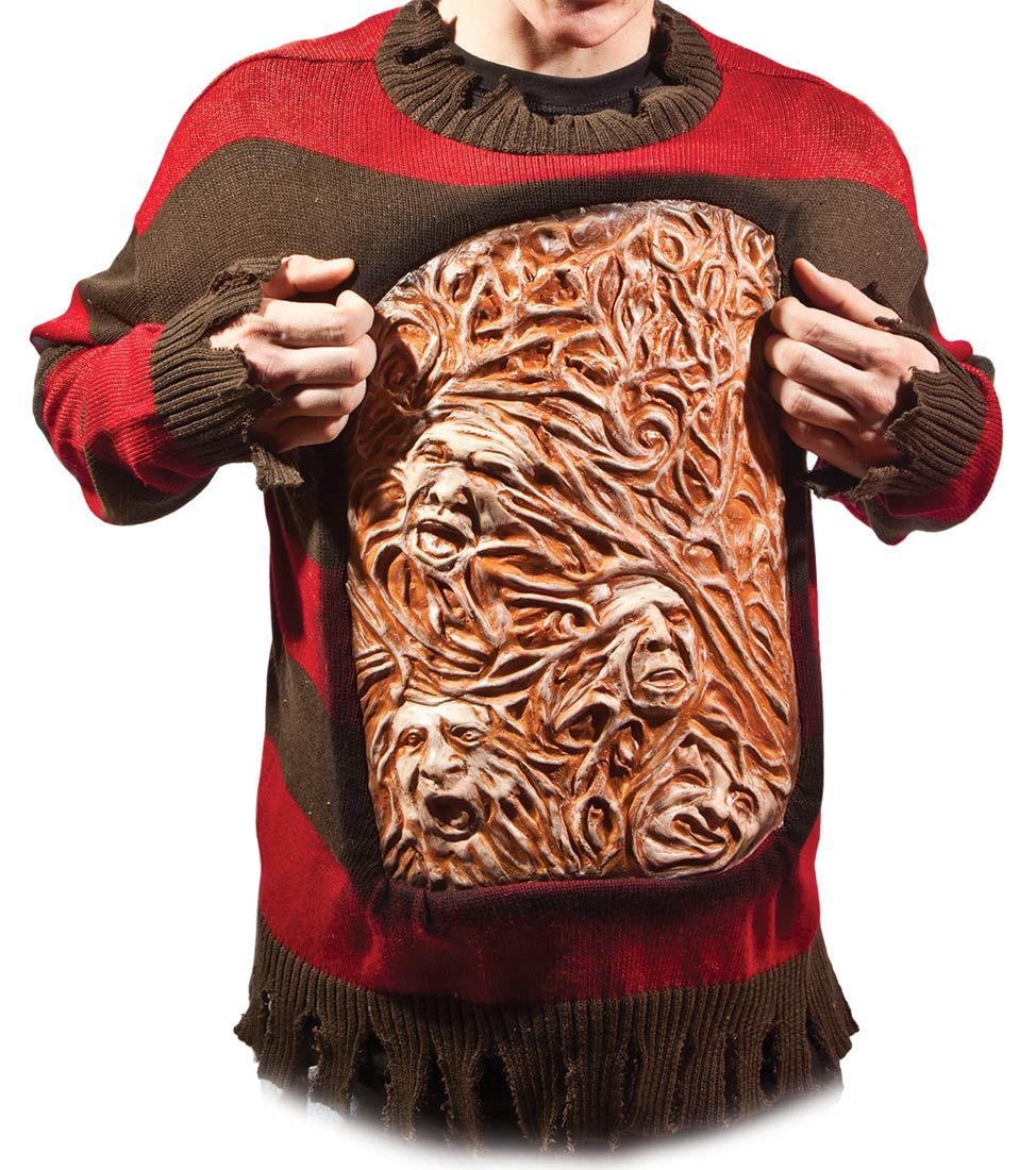 Animated Chest of Souls Freddy Krueger Costume | Different Holiday ...