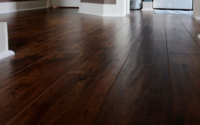 Our New Floors Goodbye Carpet Wide Plank Laminate Flooring